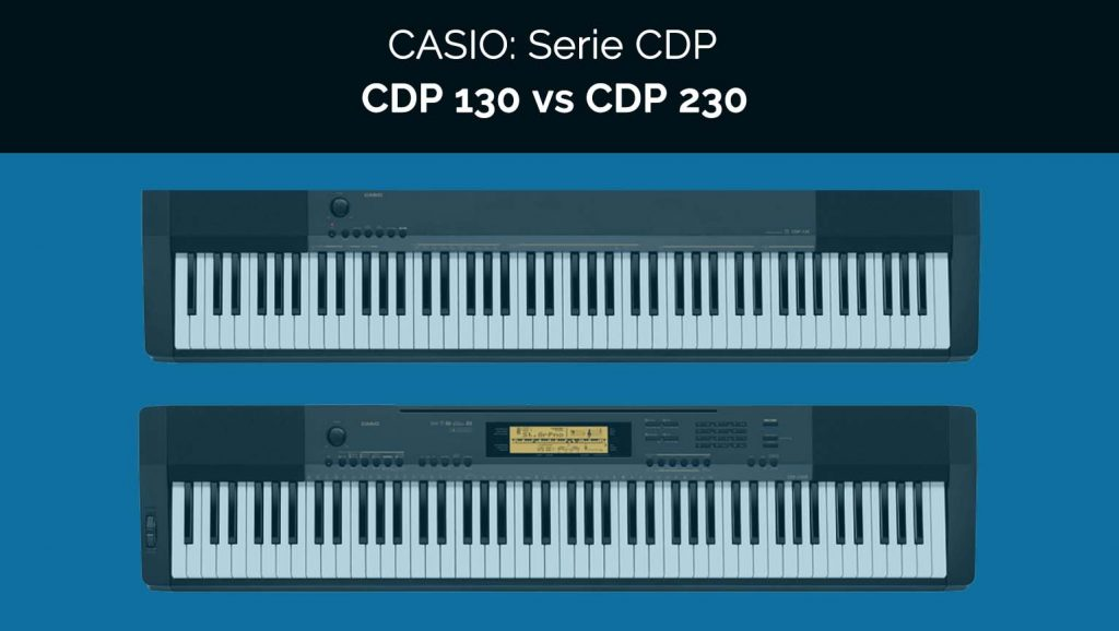 casio piano cdp 130 vs cdp230