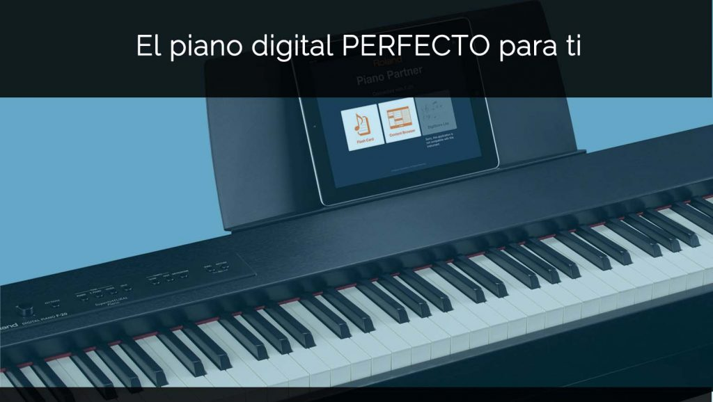 comprar piano digital