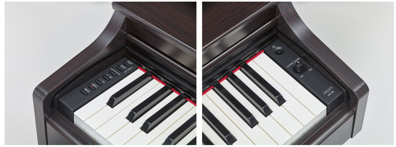 digital piano yamaha ydp interfaz