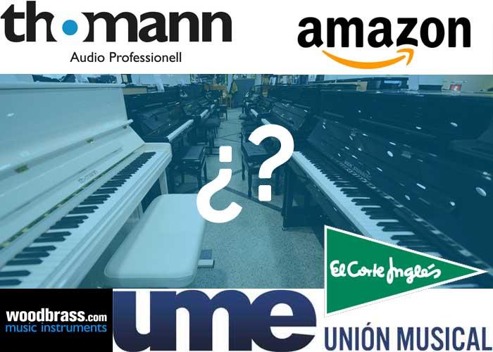 donde comprar piano digital