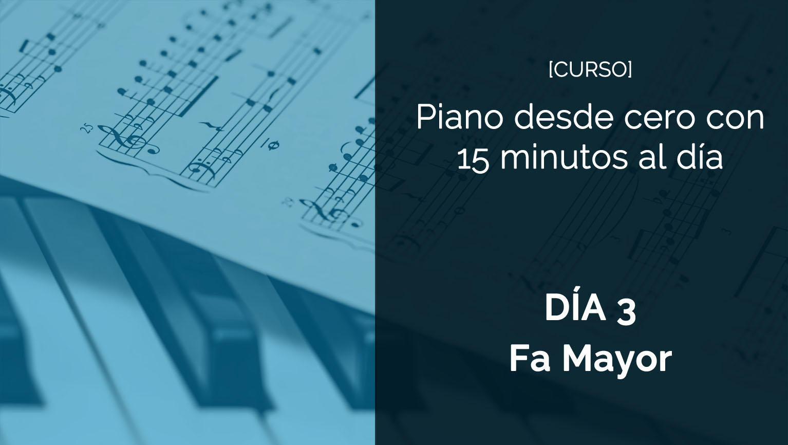 iniciacion al piano dia 4