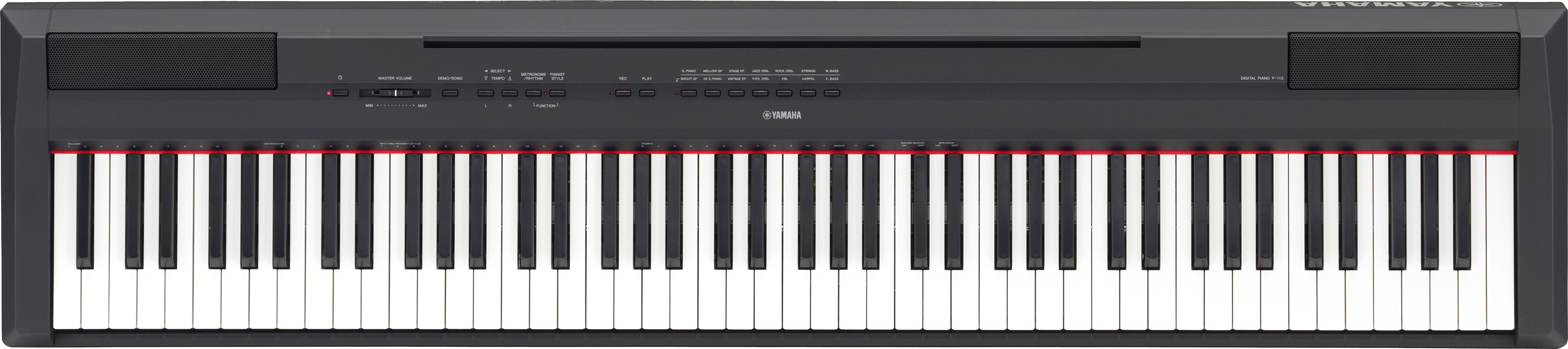 piano digital p115 yamaha