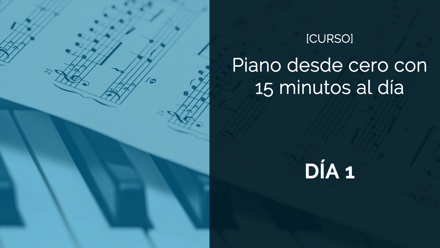 piano para principiantes portada