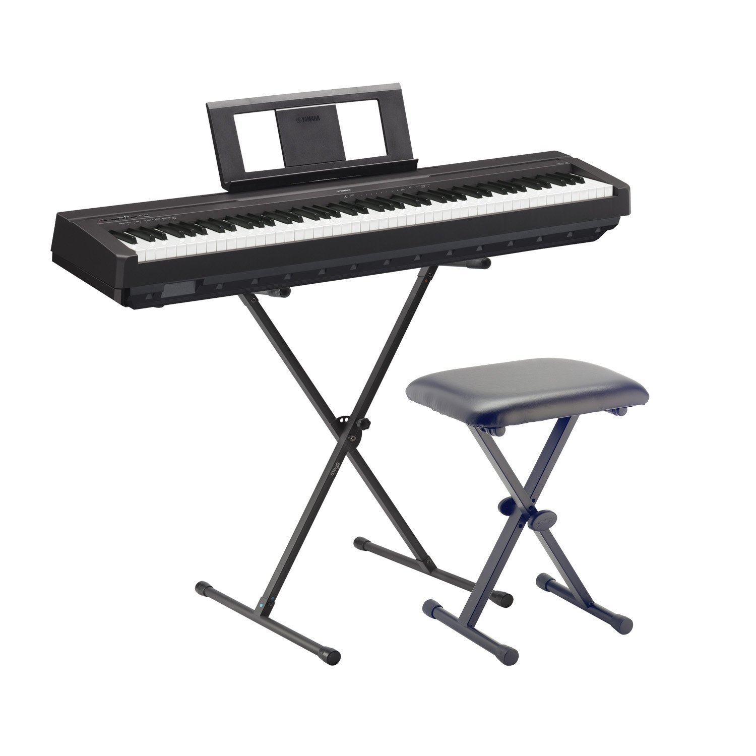 piano digital yamaha serie p los pianos portables de yamaha. Black Bedroom Furniture Sets. Home Design Ideas