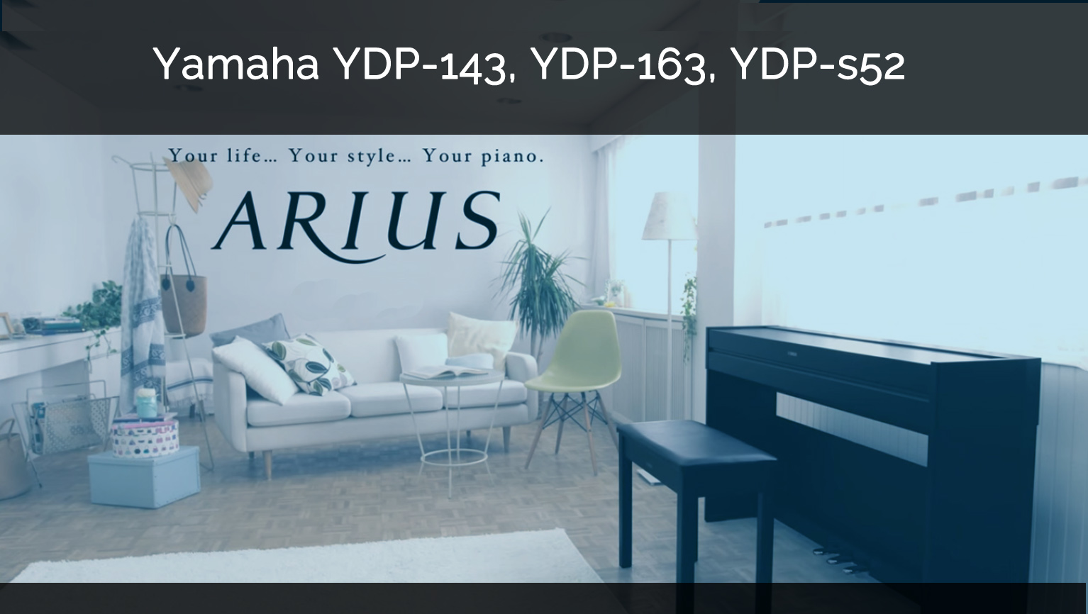 pianos digitales yamaha arius