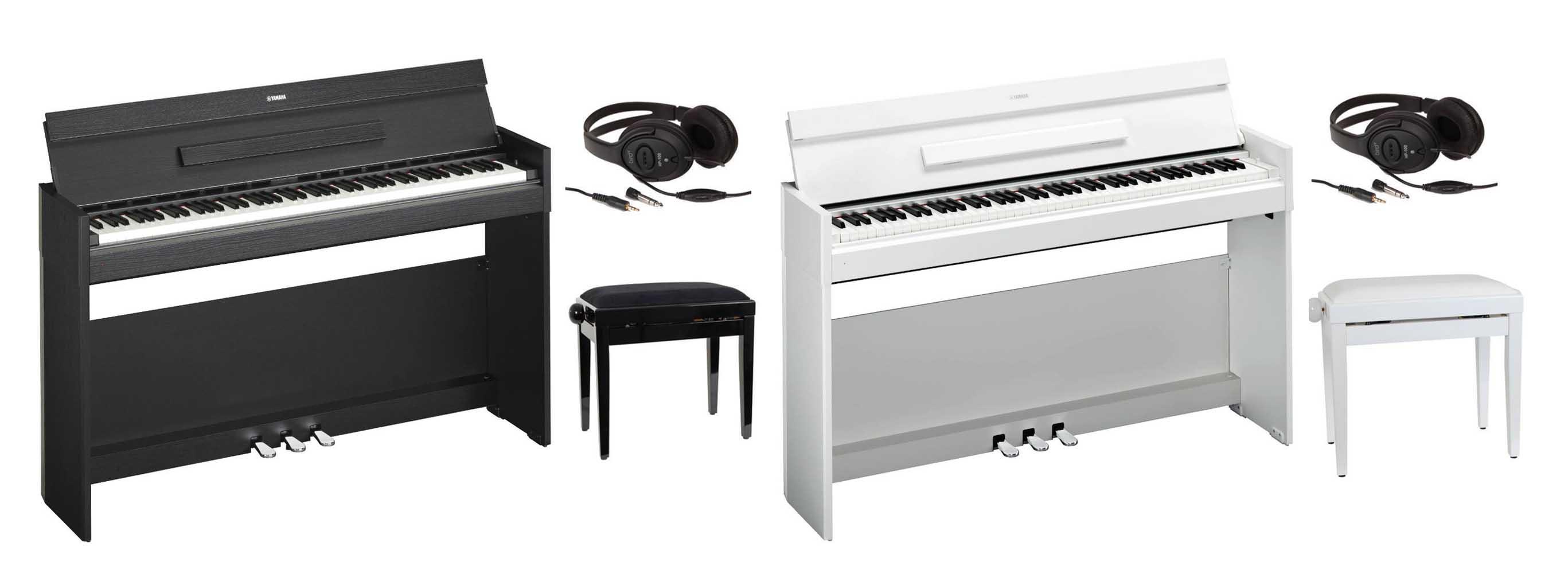 pianos digitales yamaha arius tu primer gran piano digital. Black Bedroom Furniture Sets. Home Design Ideas