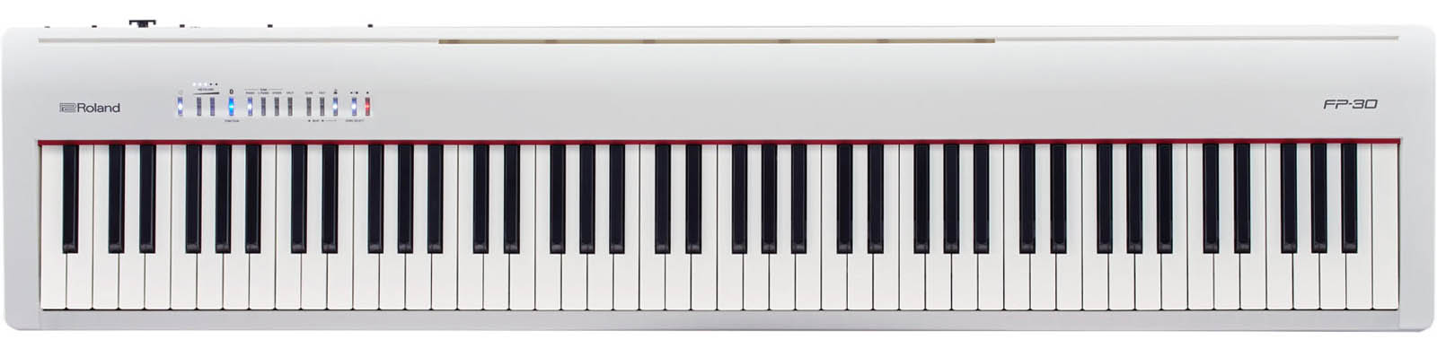 roland digital piano FP30 blanco