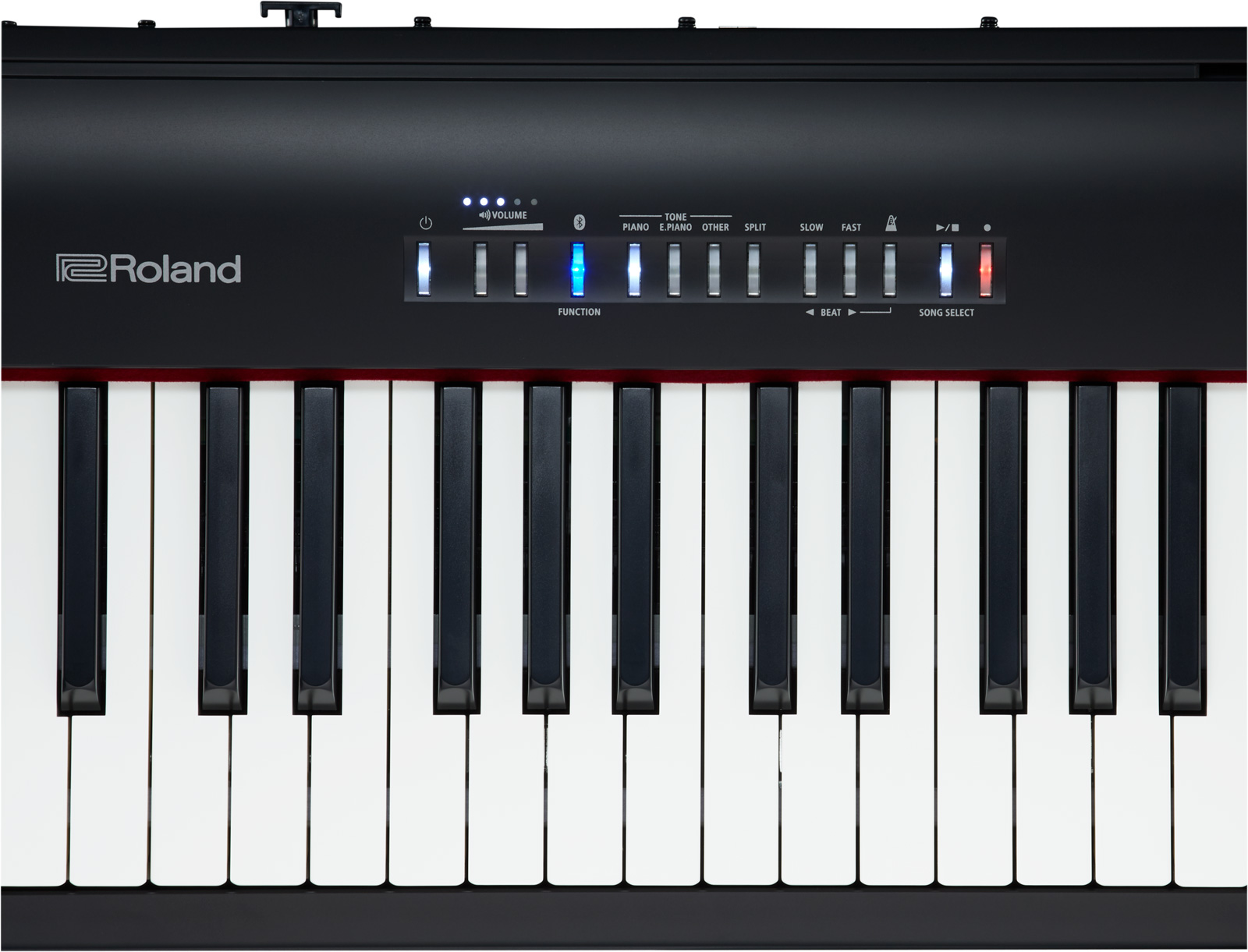 digital roland piano fp30 interfaz