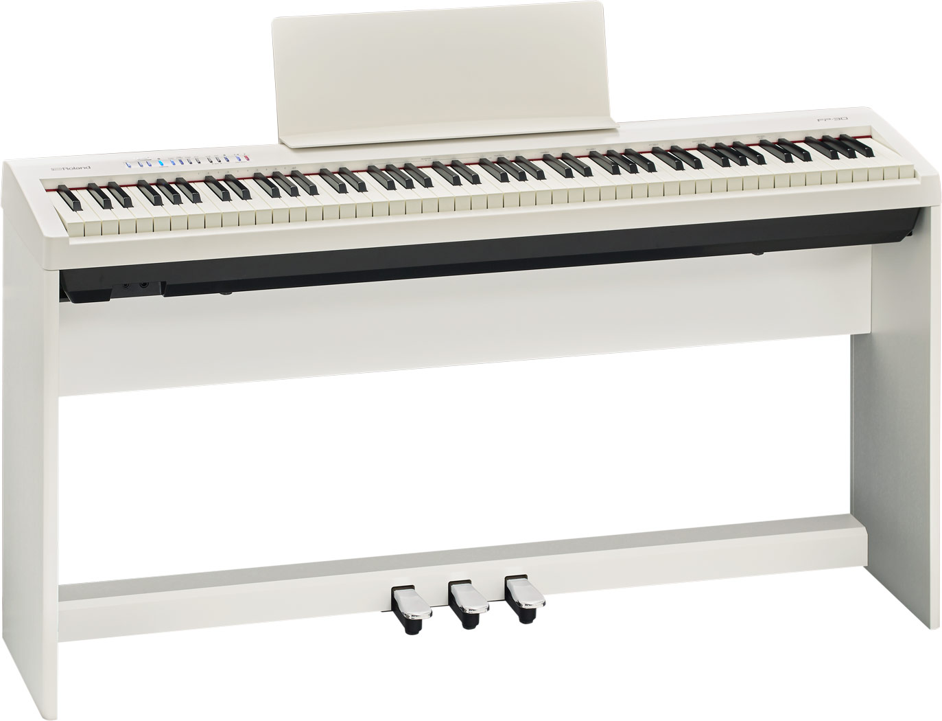piano roland digital fp30 pack blanco
