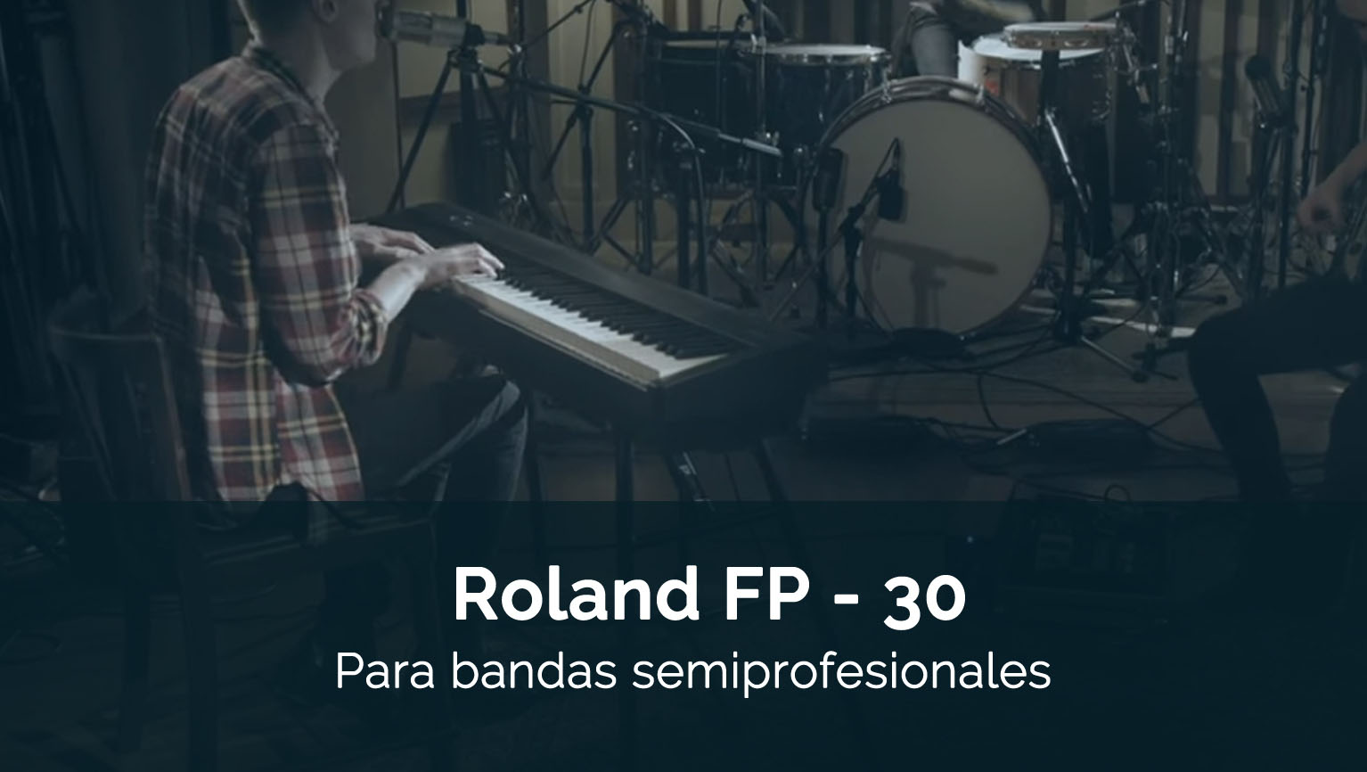 Análisis Roland FP30