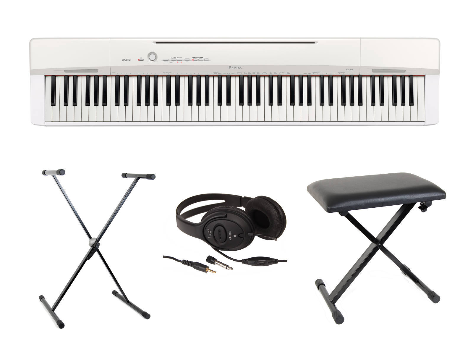 pack casio px 160 blanco