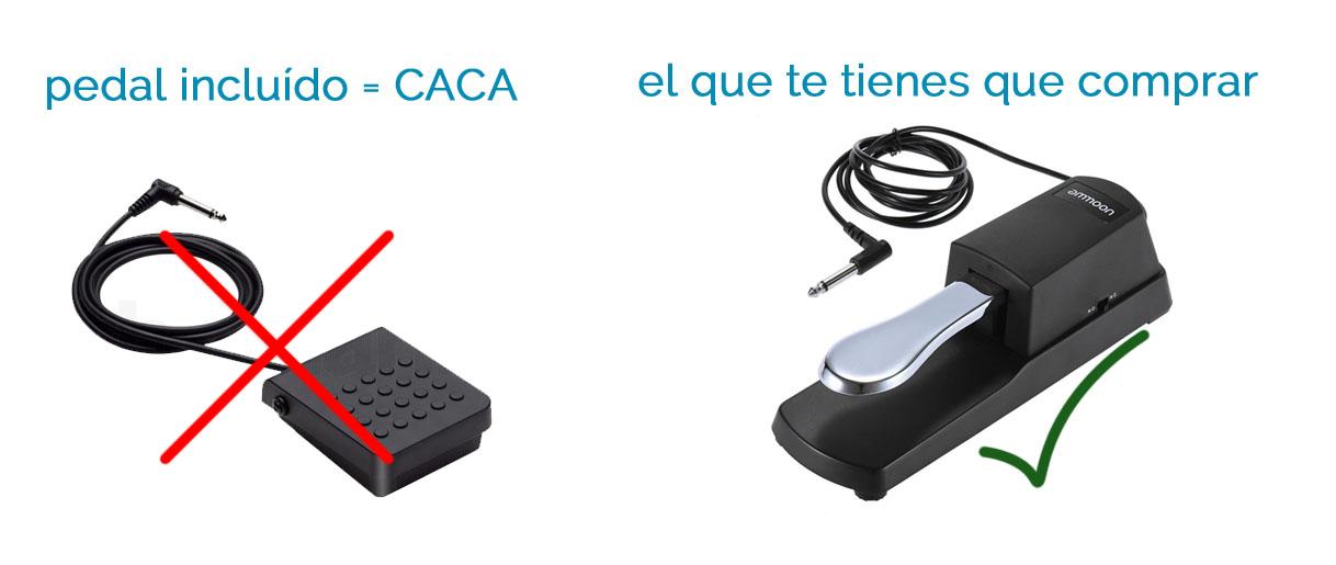 pedal casio