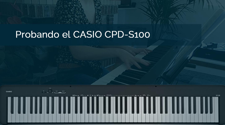 análisis Casio CDPS100
