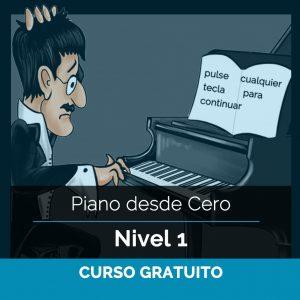 Piano desde Cero – Nivel 1