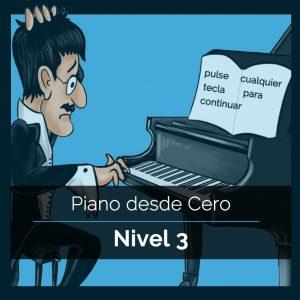 Piano desde Cero – Nivel 3